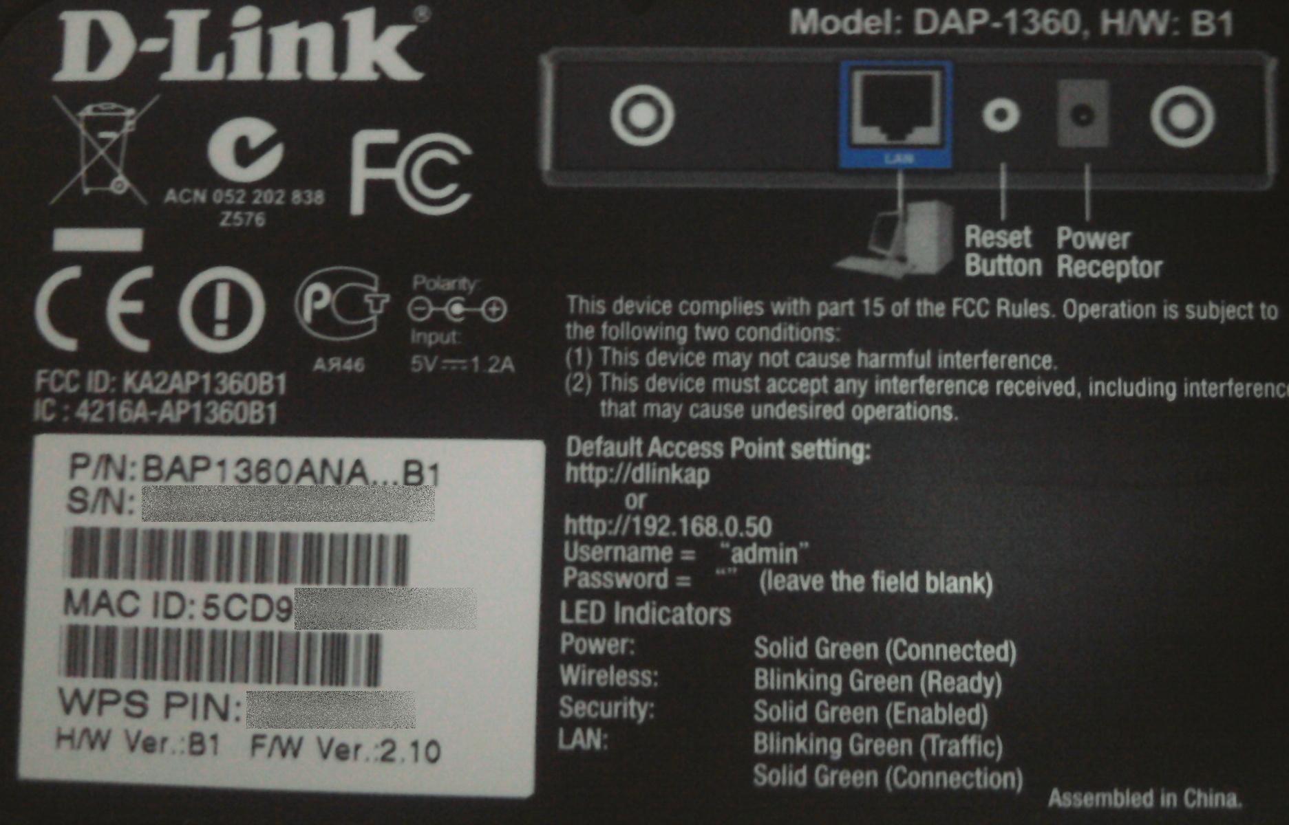 d link dap 1360 b1 firmware download